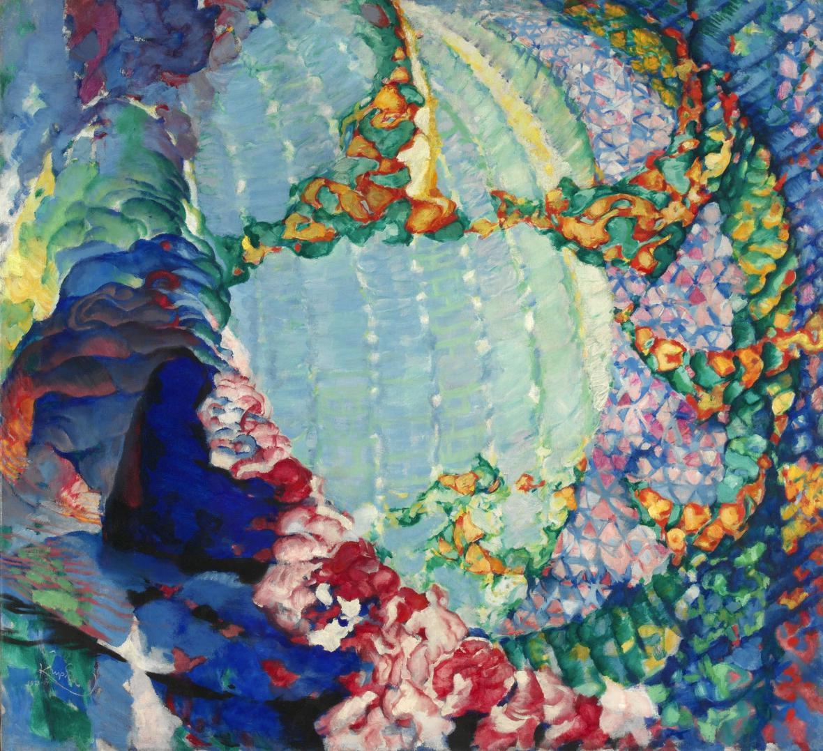 František Kupka / Kosmické jaro I, 1913/14
