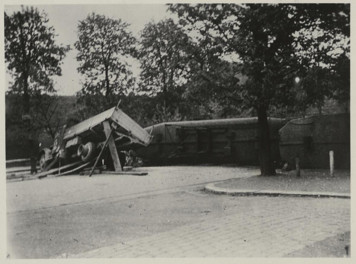 Osvobození Brna na dobové fotografii