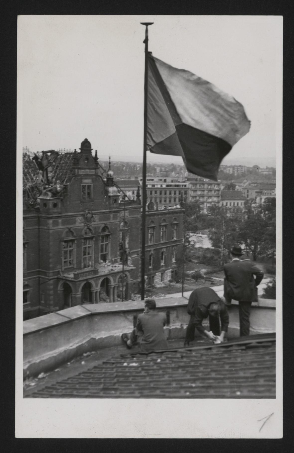 Německý dům v Brně po konci války