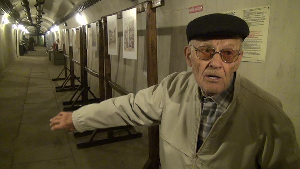 Karel Frank se po 70 letech vrátil do krytu
