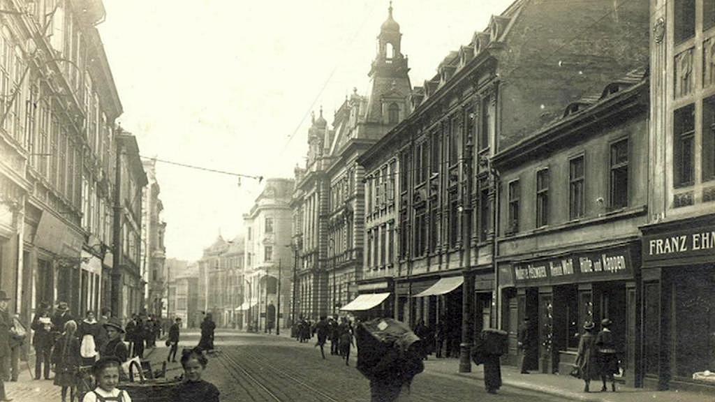 Centrum Ústí nad Labem před náletem