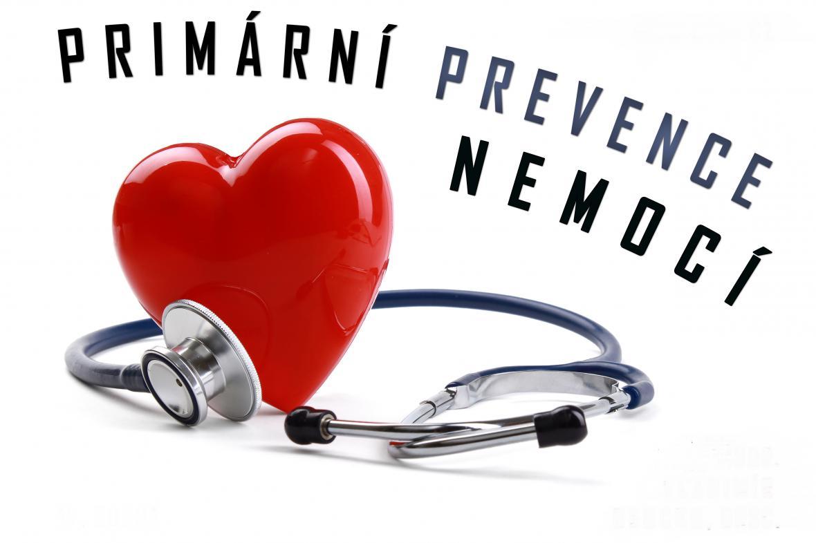 Plakát k přednášce Primární prevence nemocí