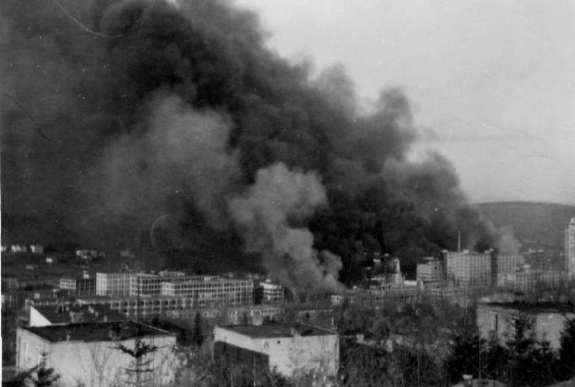 Bombardování Zlína 20. 11. 1944