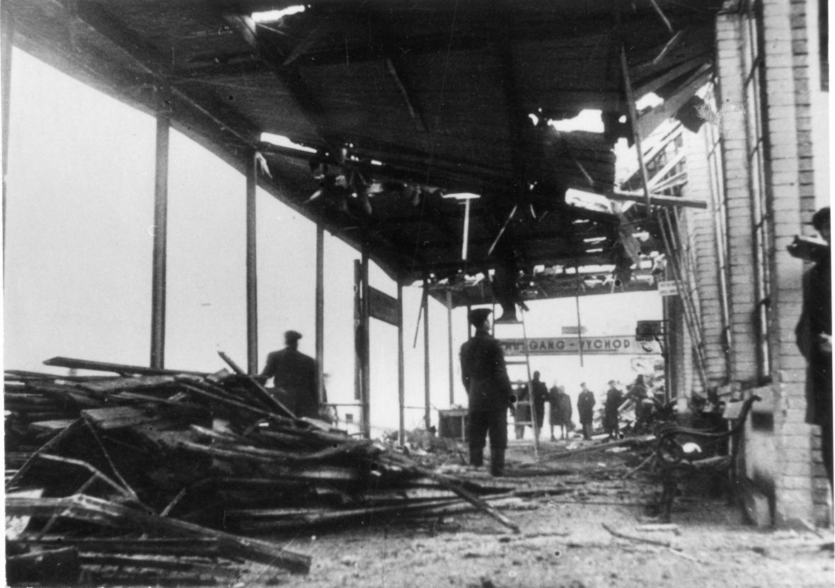 Bombardování Zlína - nádraží (1944)