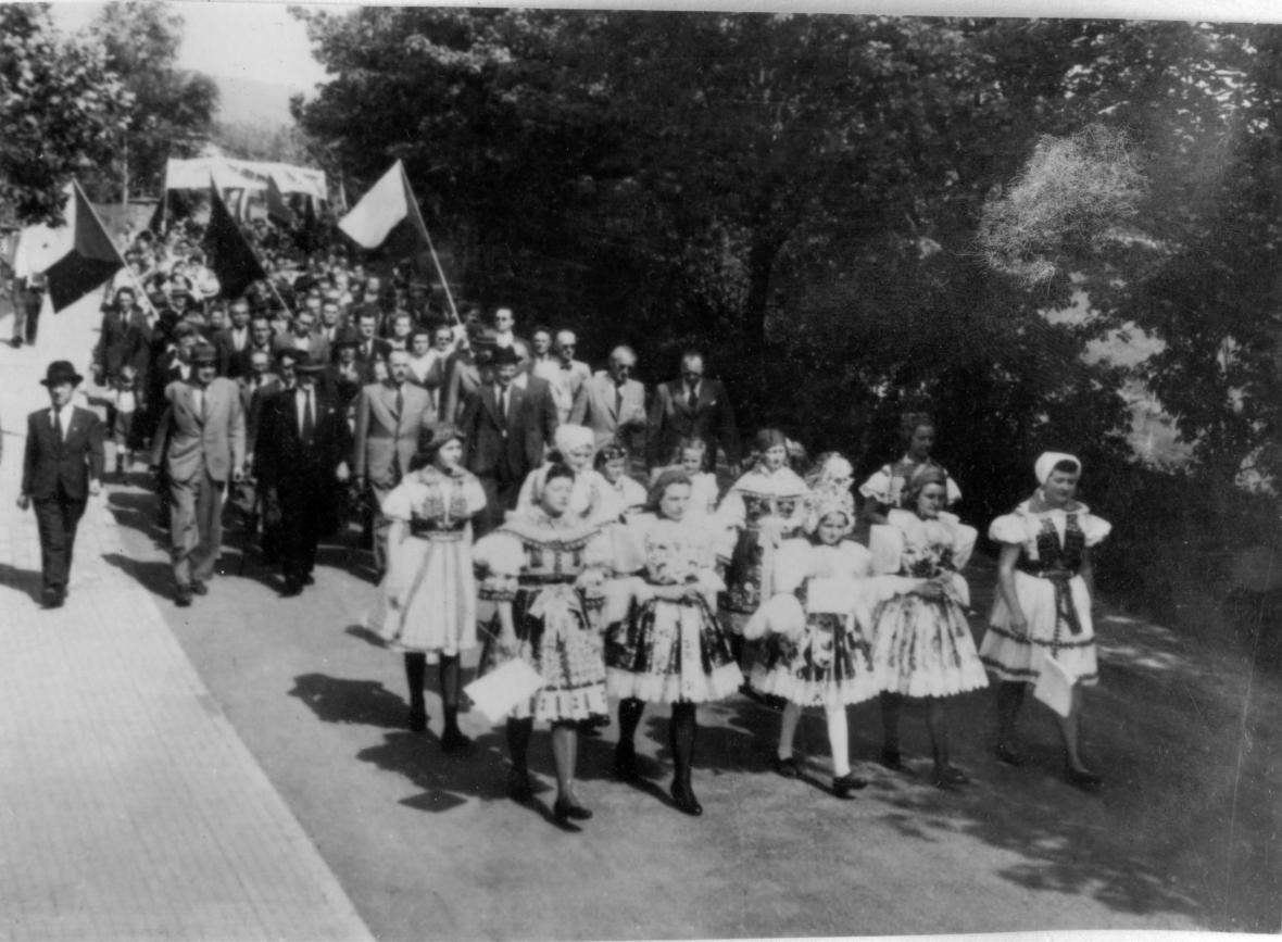 Oslavy osvobození Zlína (1945)