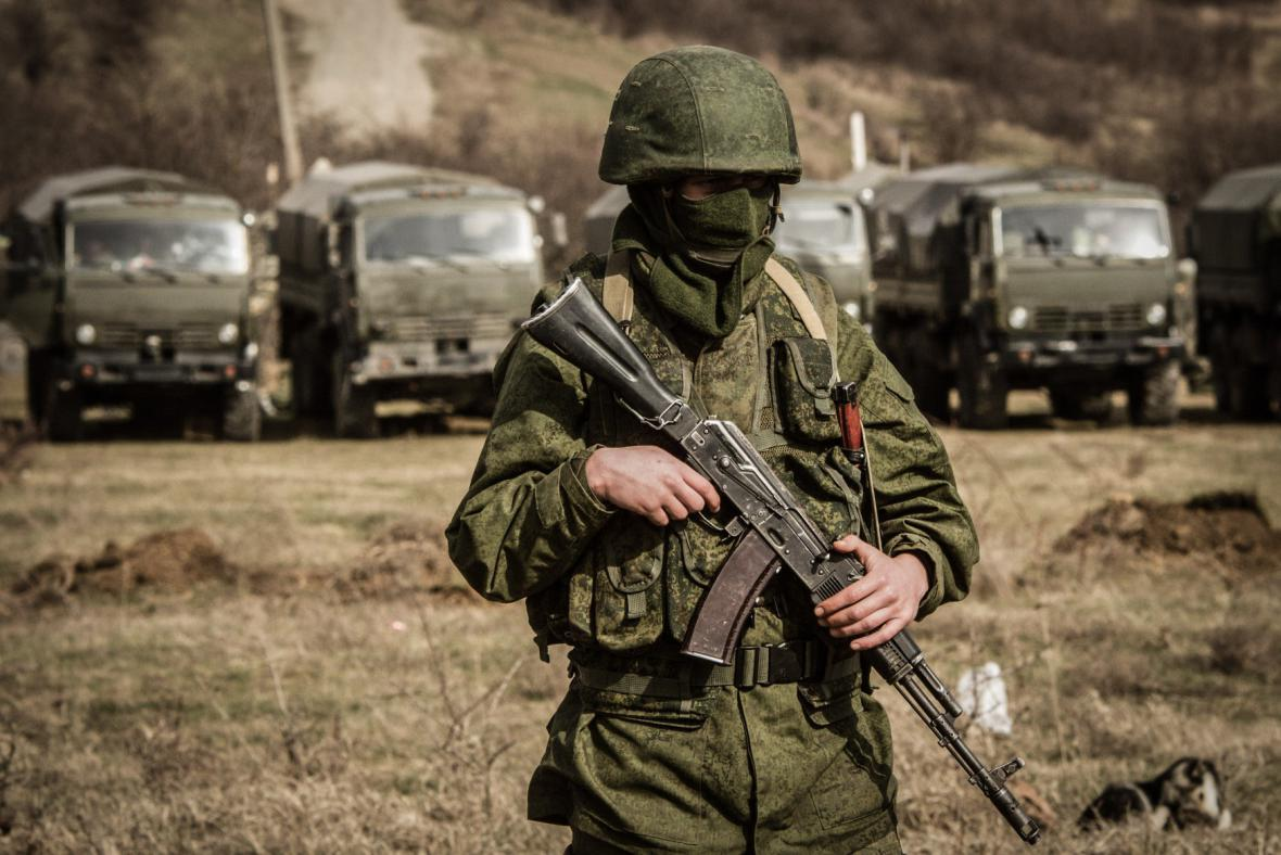 Neoznačení vojáci na Krymu