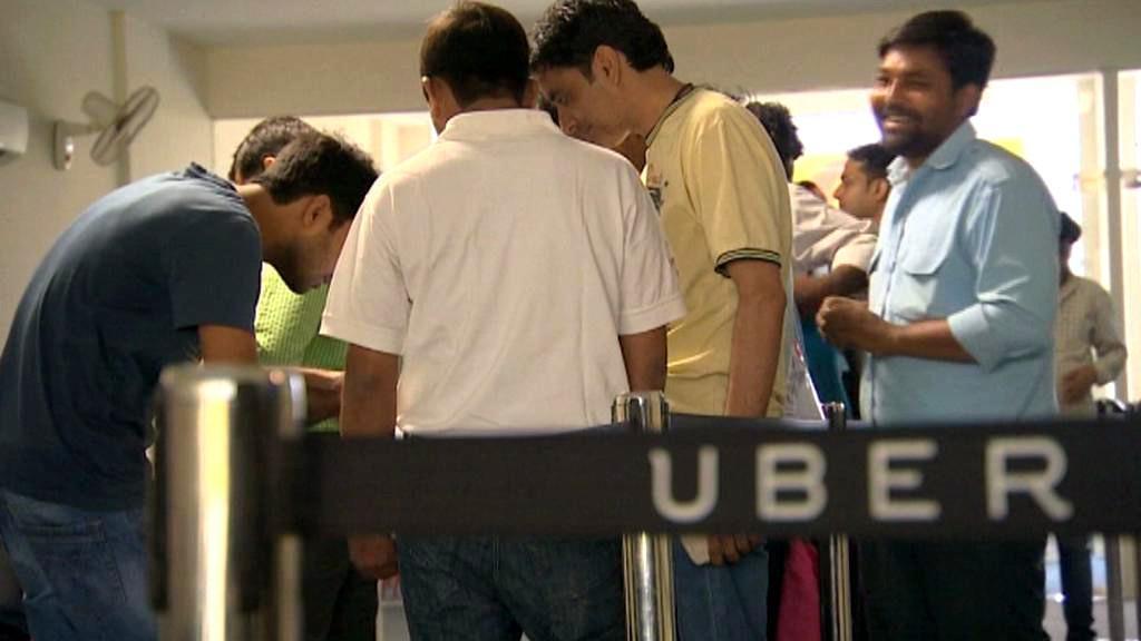 Uber dorazil do Indie