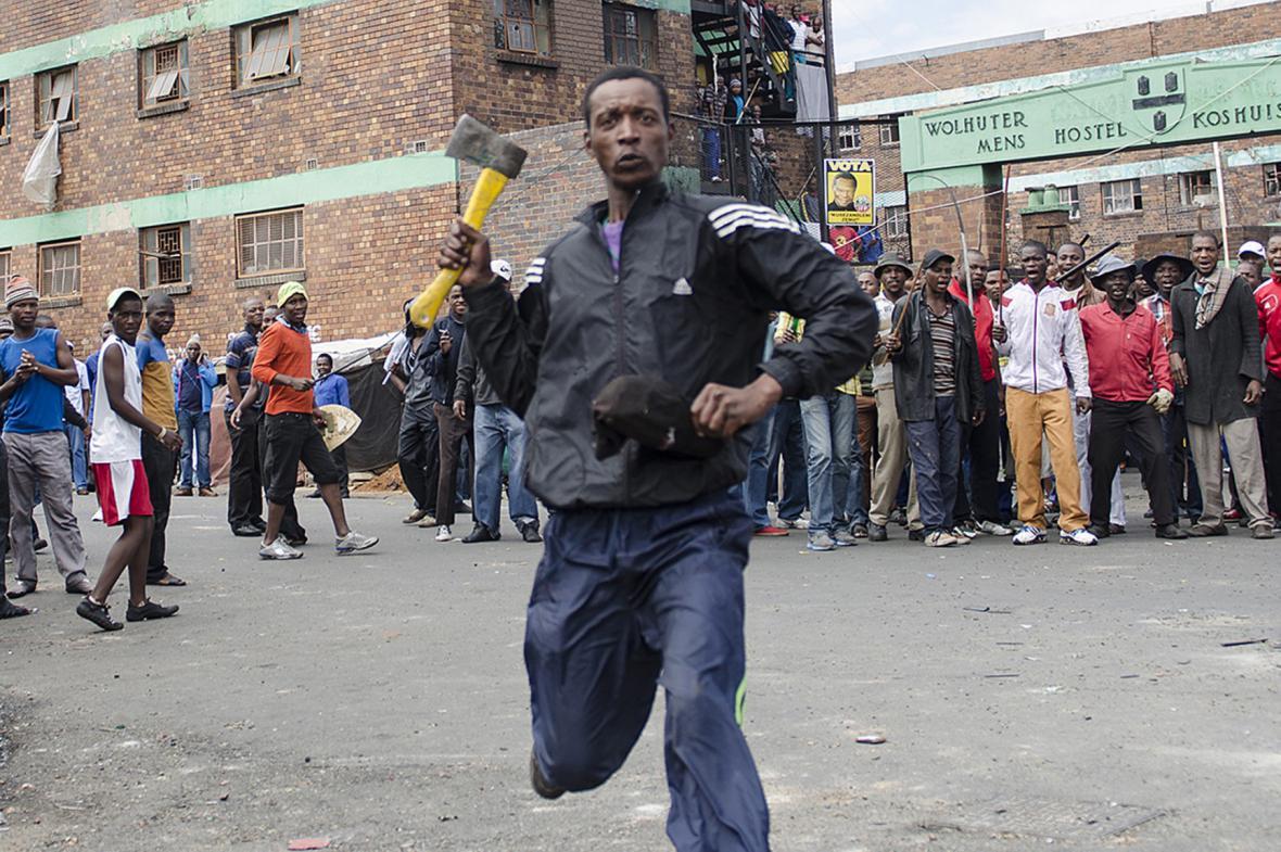 Vlna xenofobních útoků v JAR