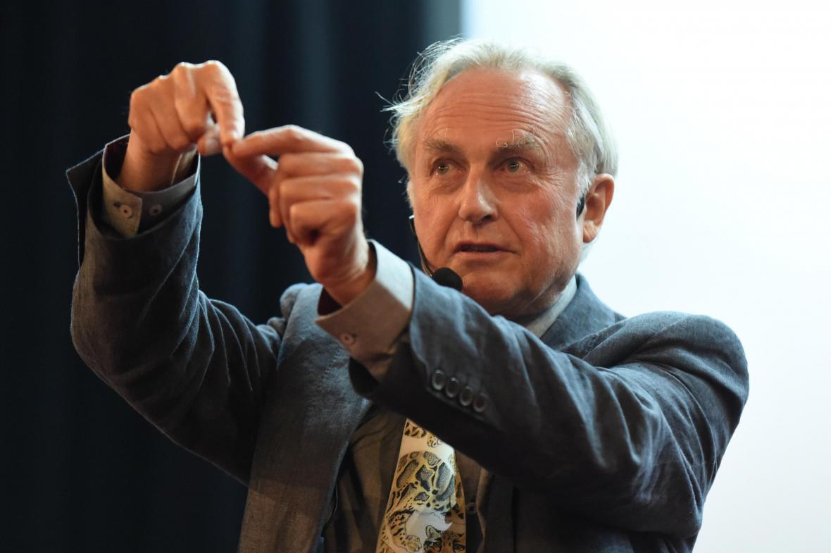 Richard Dawkins na festivalu vědeckých filmů v Olomouci