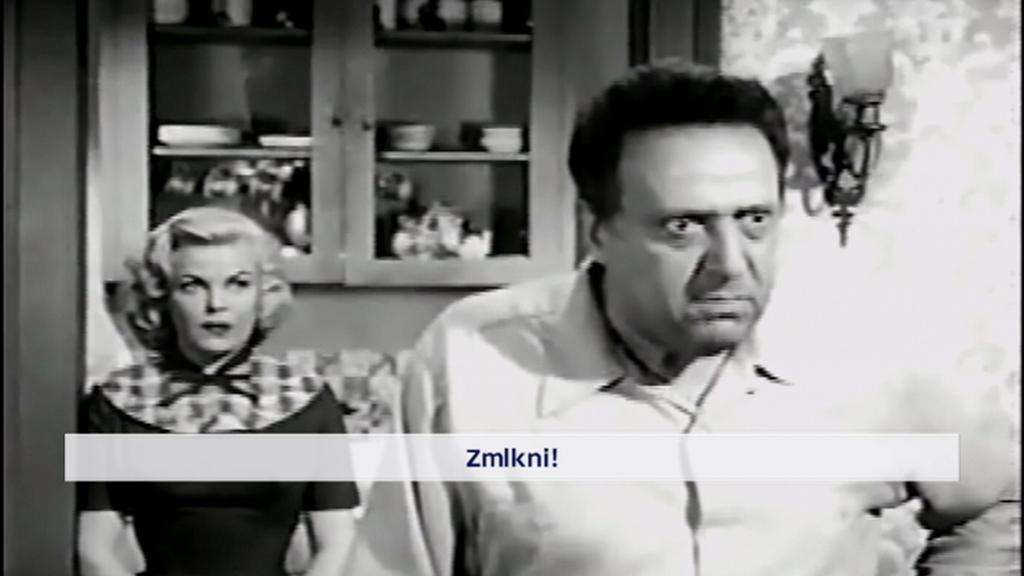 Hugo Haas ve filmu Hit and Run (Srazit a ujet) z roku 1957