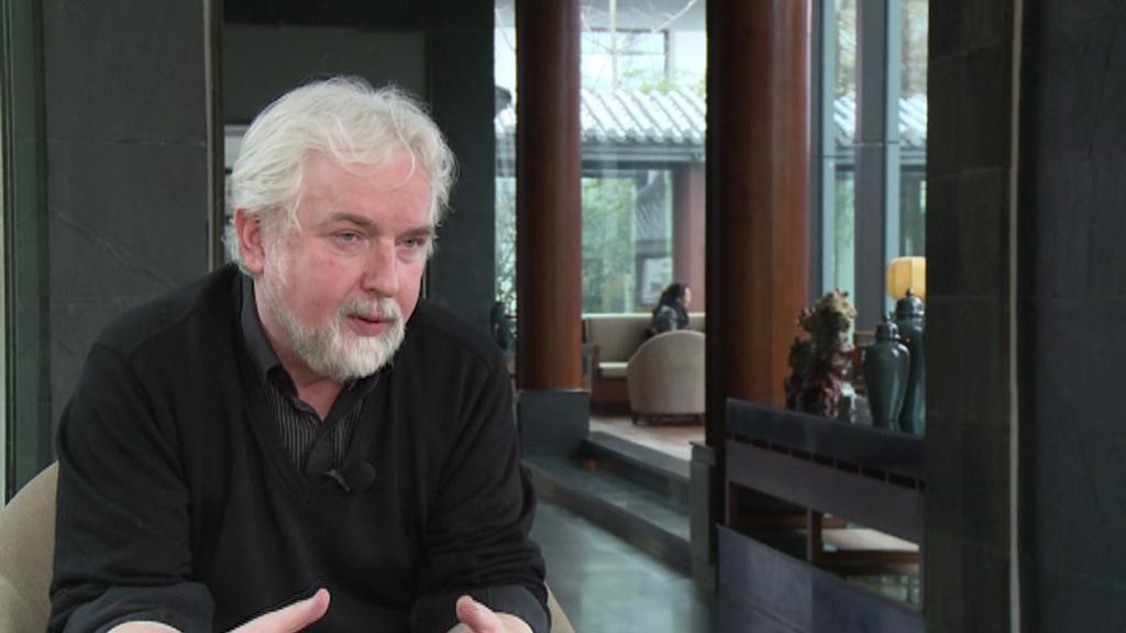 Jan Benda, český architekt v Číně