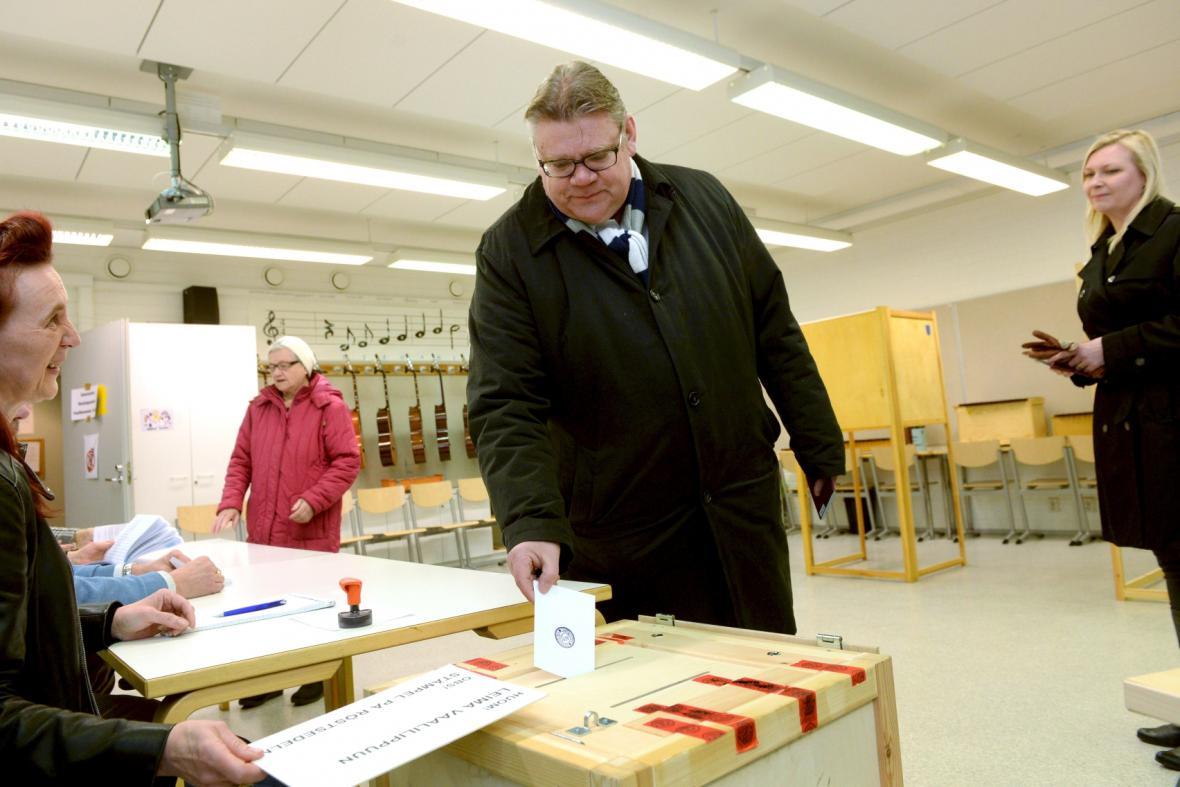 Finové rozhodují o novém složení parlamentu