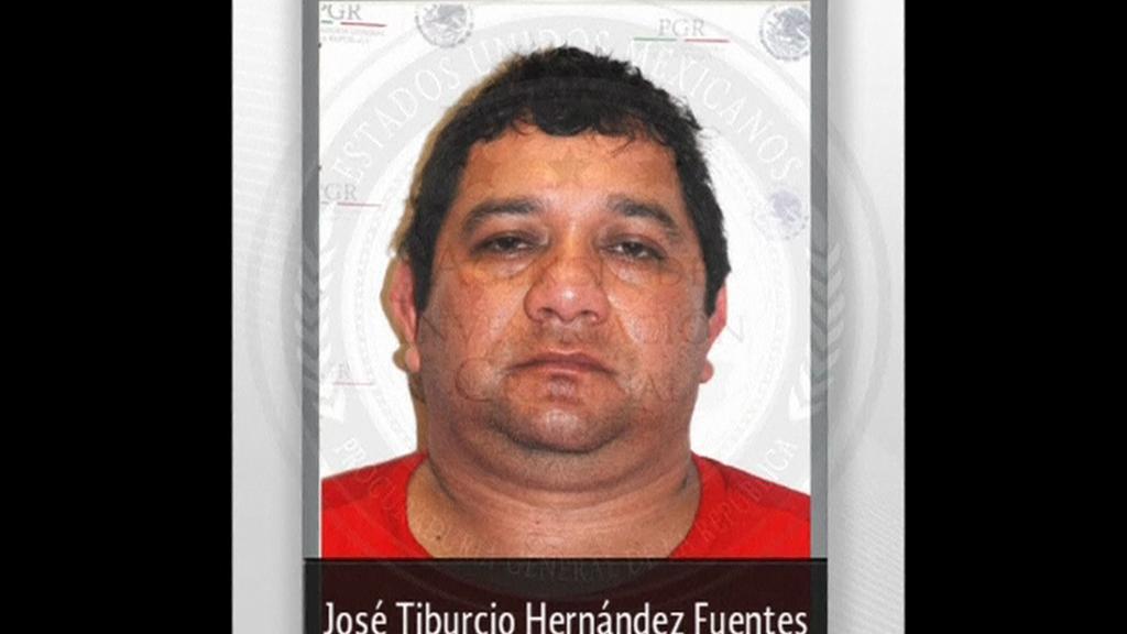 Zadržený drogový boss Hernandez Fuentes