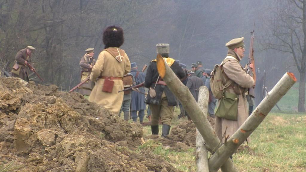 Rekonstrukce bitvy v Karpatech