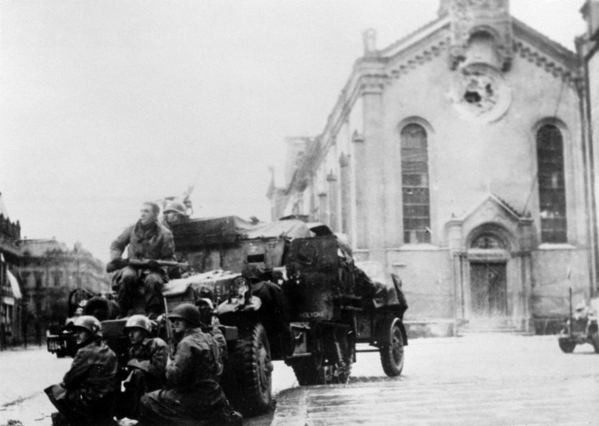 Američtí vojáci v Plzni