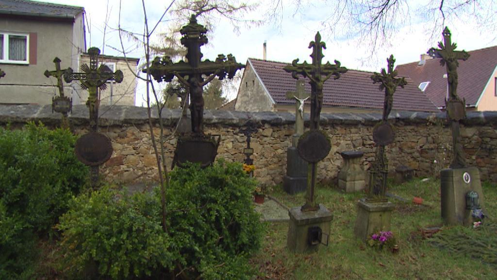 Jindřichohradecký hřbitov u Václava