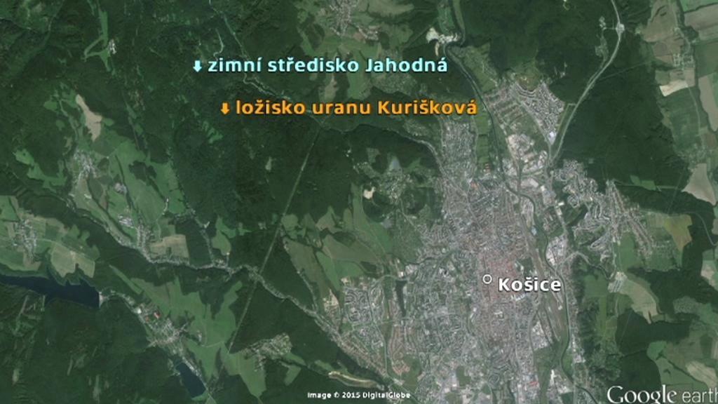 Průzkum ložiska uranu u Košic