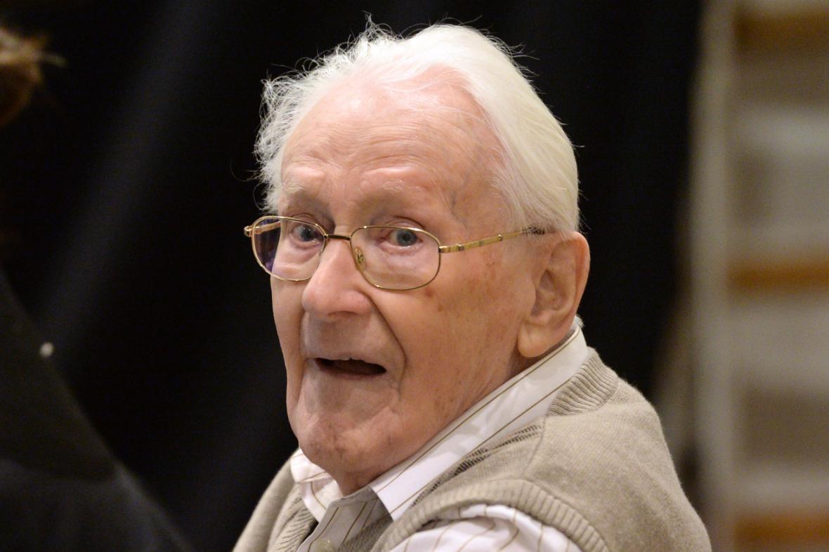 Oskar Gröning u soudu