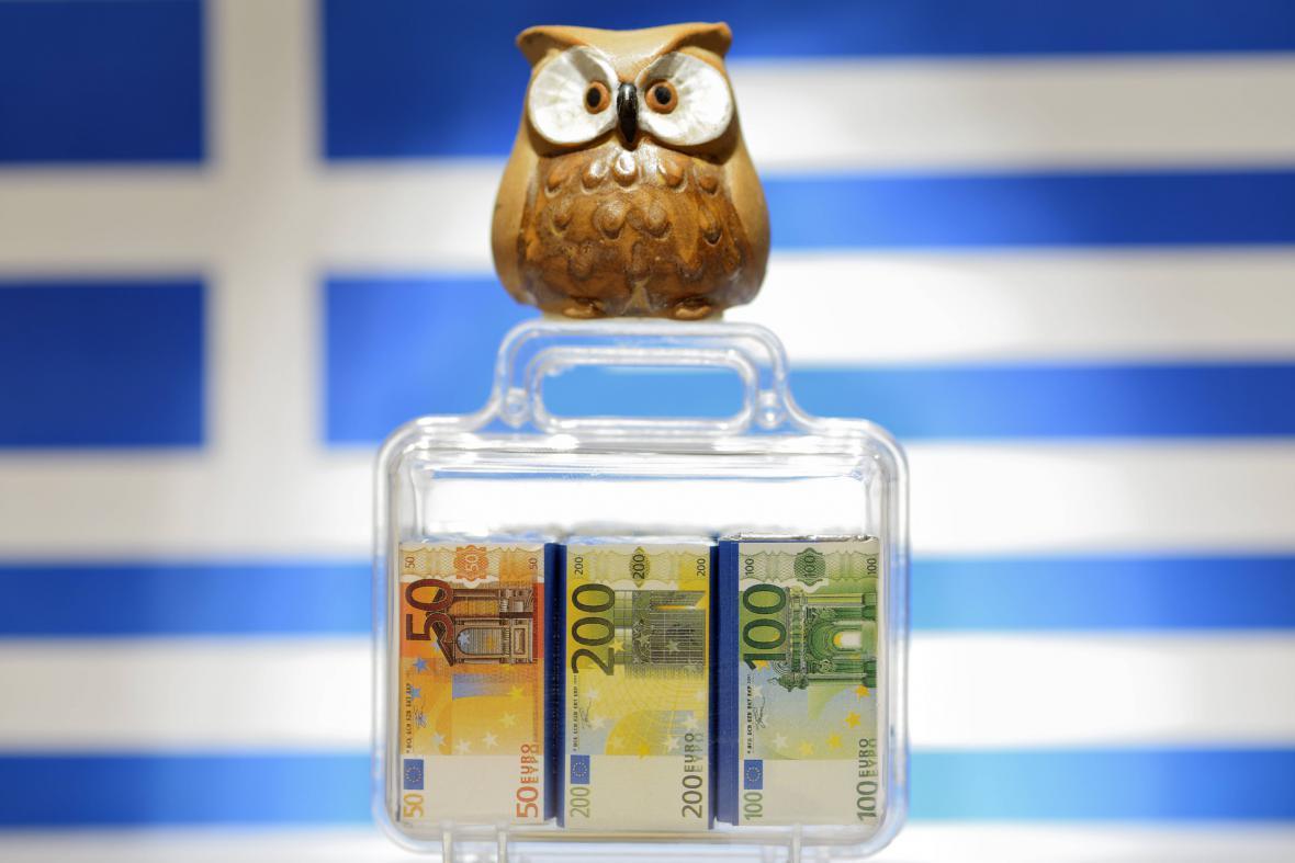 Méně peněz pro řecké banky