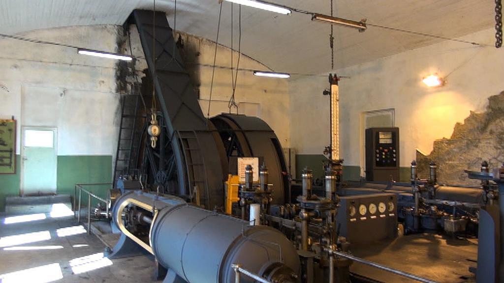 Unikátní parní stroj v Kopistech