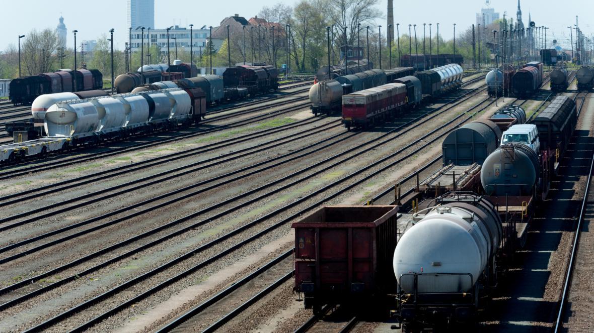 Stávka dnes začala u nákladních vlaků