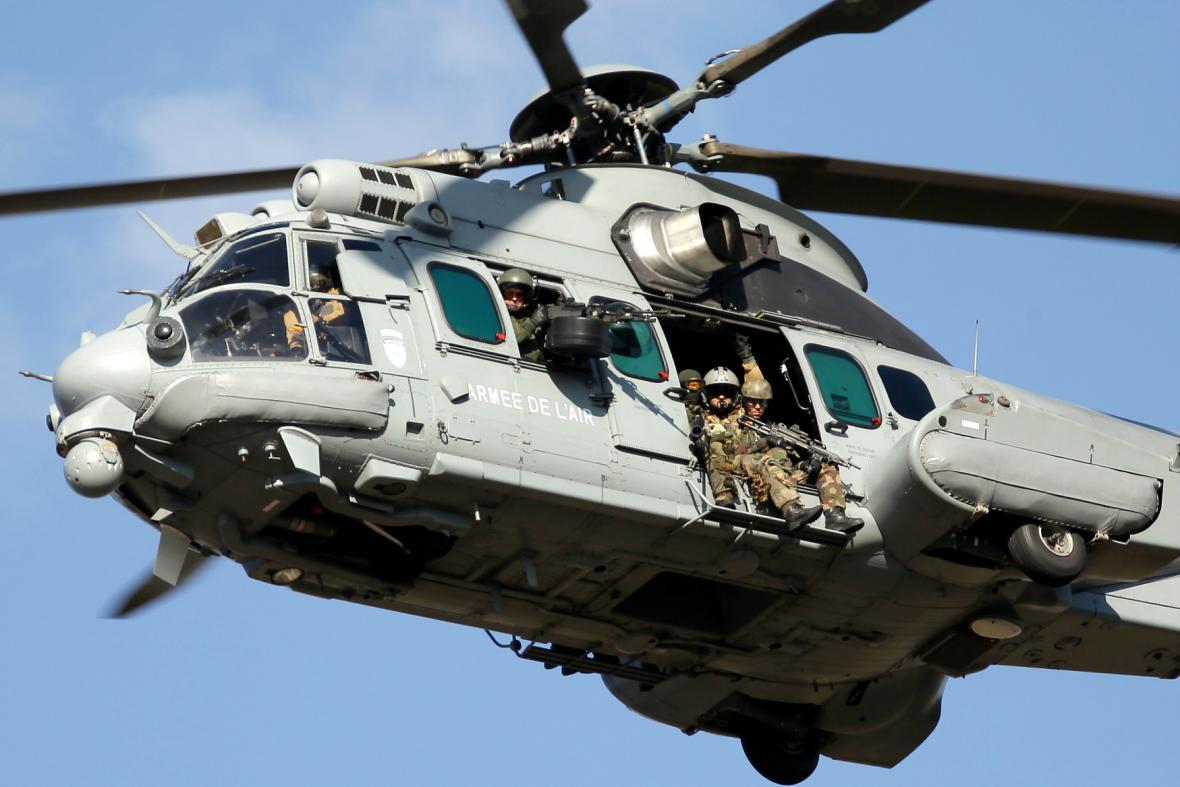 Vrtulníky Caracal vyrábí společnost Airbus