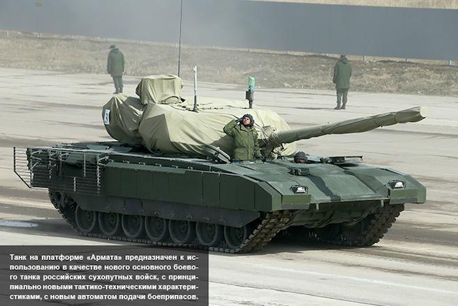 Nový ruský tank T-14 Armata