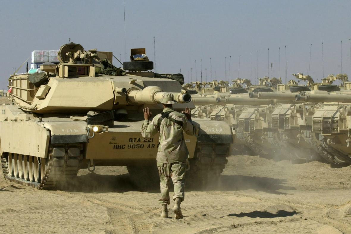 Americké tanky M1 Abrams