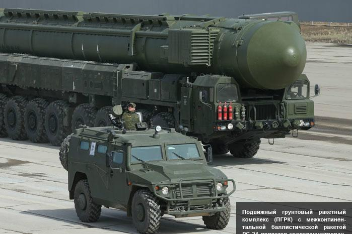 Ruská mezikontinentální raketa Jars
