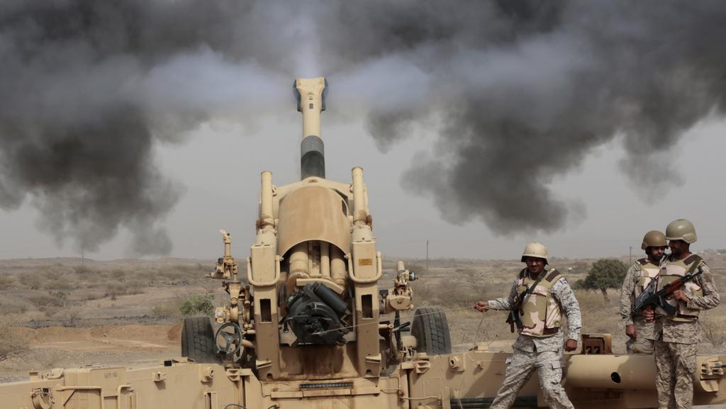 Saúdské ostřelování