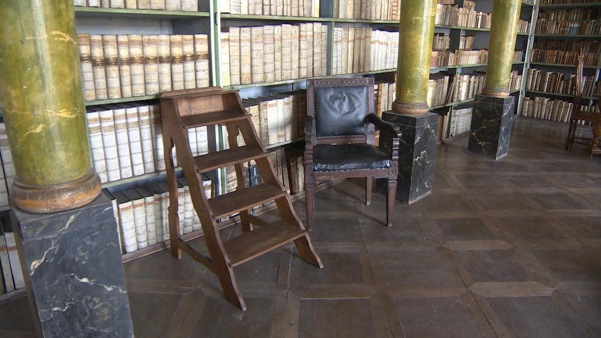 Knihovna broumovského kláštera