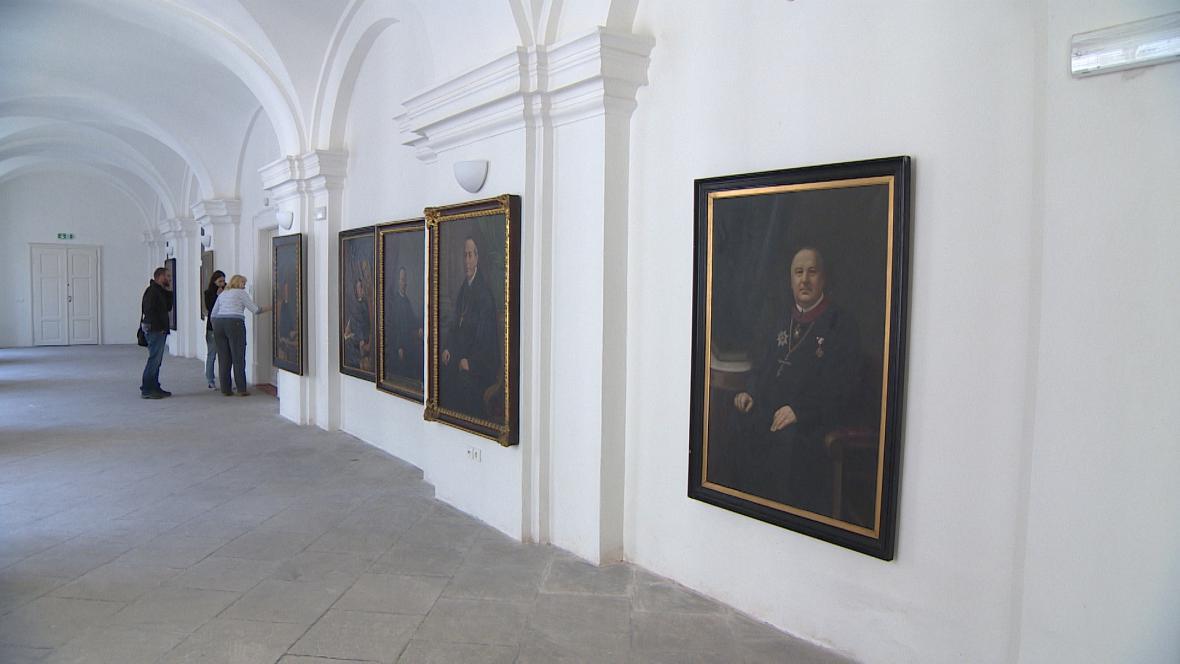 Prostory broumovského kláštera po rekonstrukci