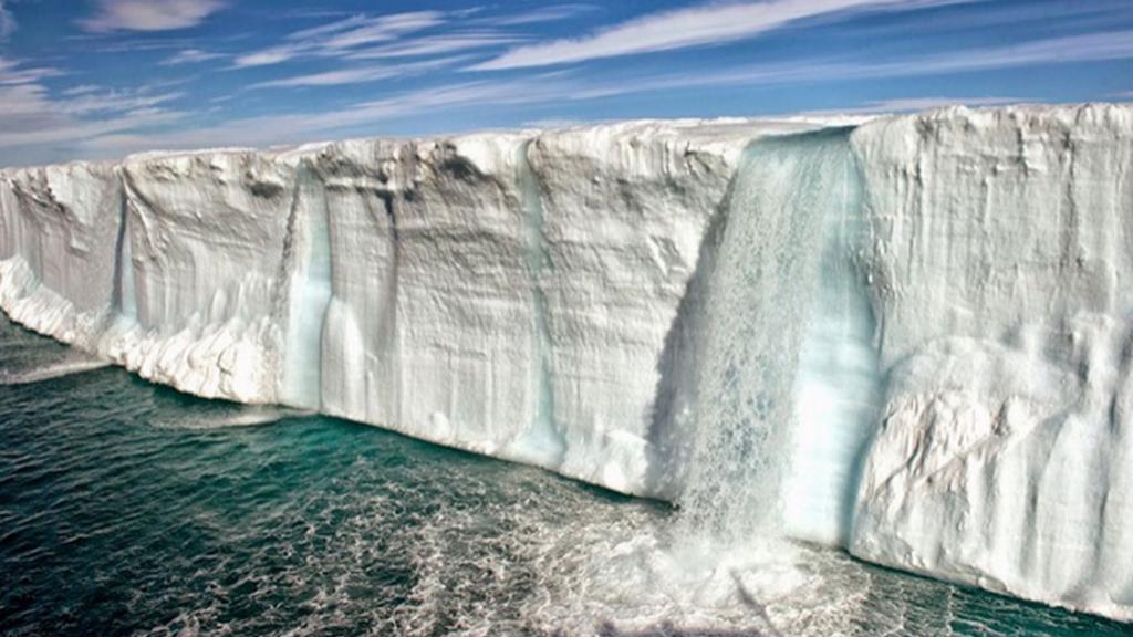 Globání oteplování jako zdroj nových vodních toků - paradox nedaleko Norska