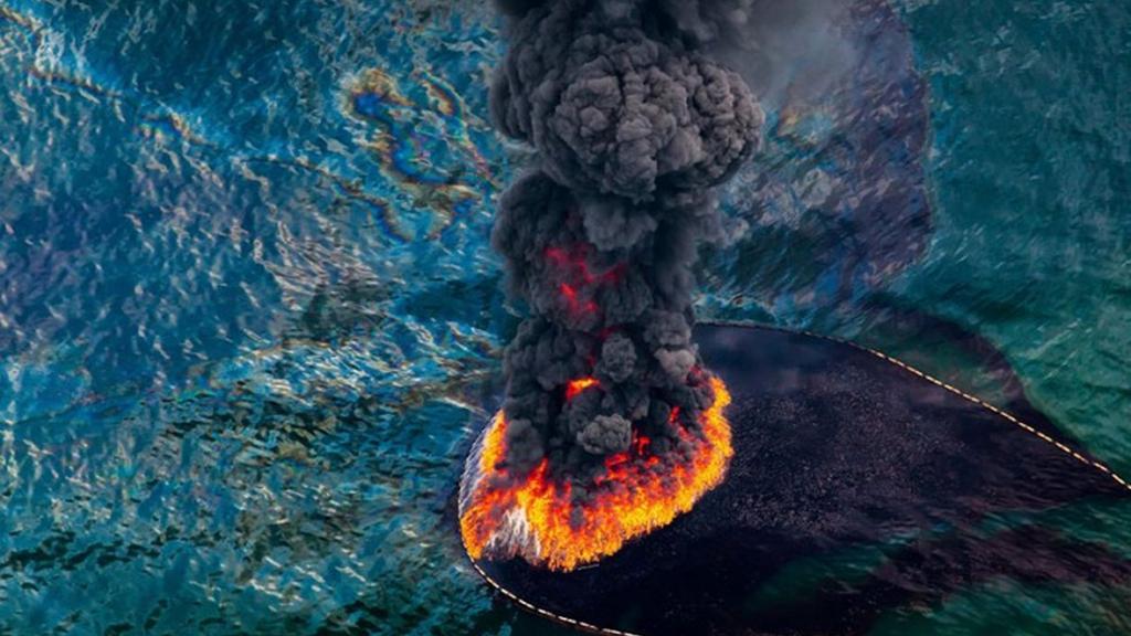 Havárie v Mexickém zálivu - spojení protikladných živlů