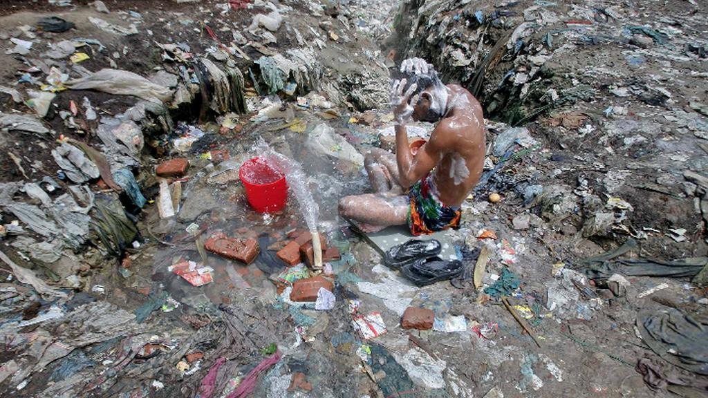 Hygiena v rámci možností - indický venkov