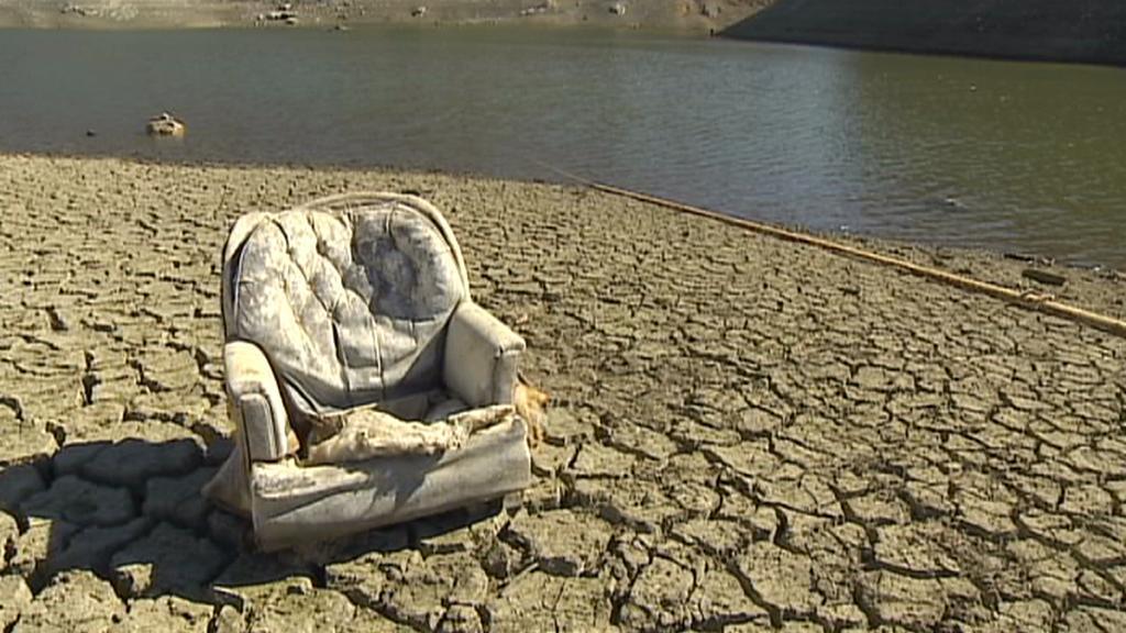 Rekordní sucho v Kalifornii - hrozba pro přírodu i obyvatele
