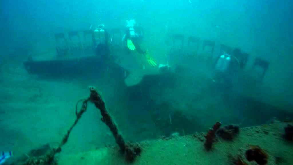 Podmořský památník vojákům jednotky Šajetet