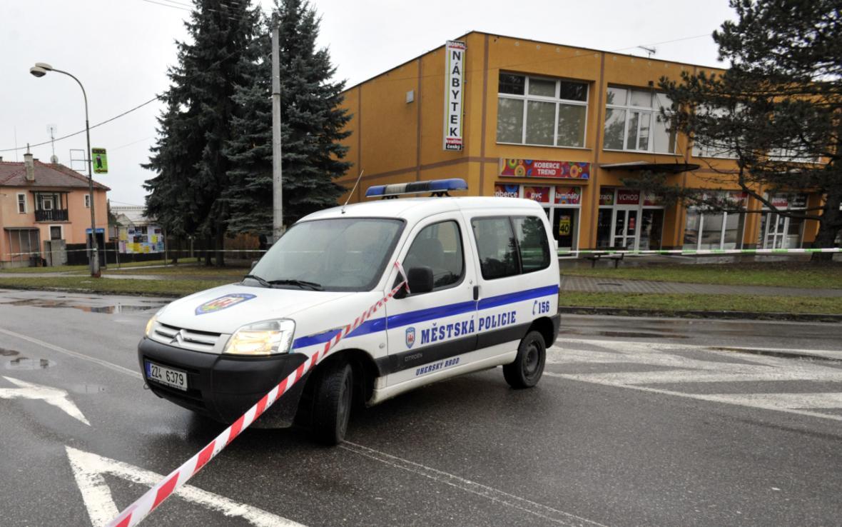 Policie zasahovala proti střelci v Uherském Brodě