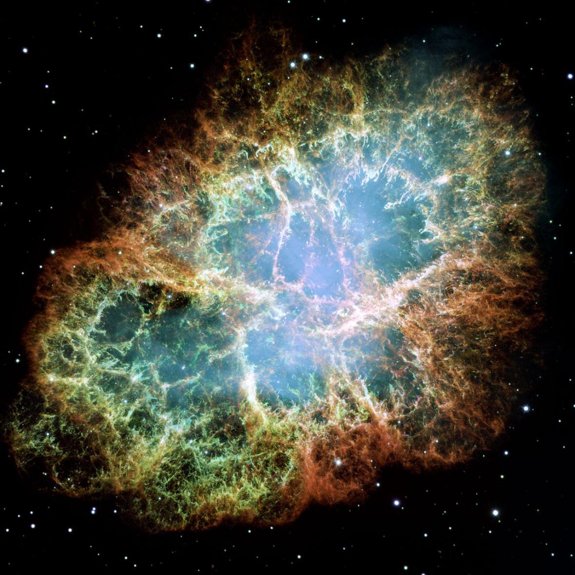Snímek z Hubbleova vesmírného teleskopu