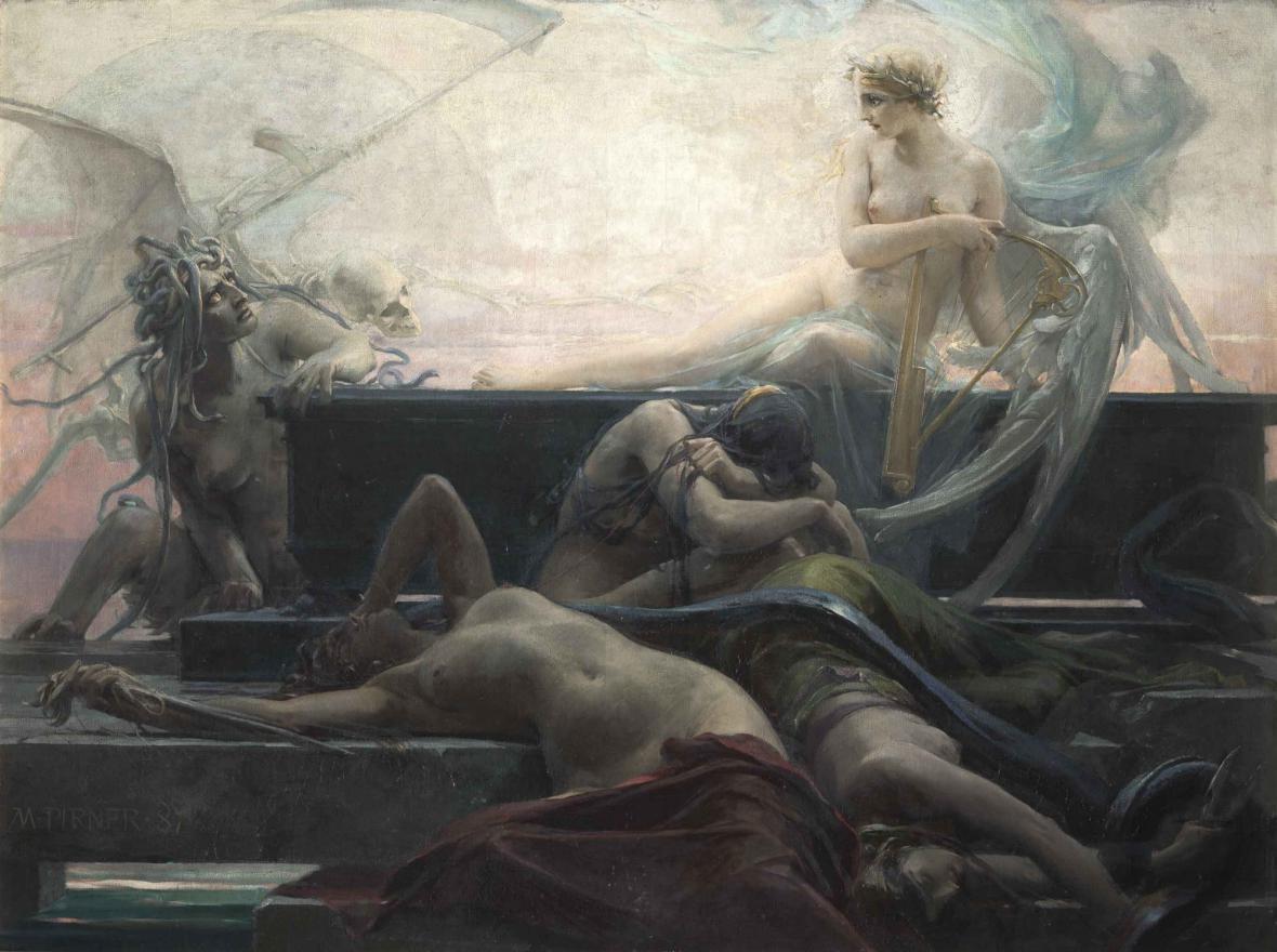 Maxmilian Pirner / Konec všech věcí, 1887