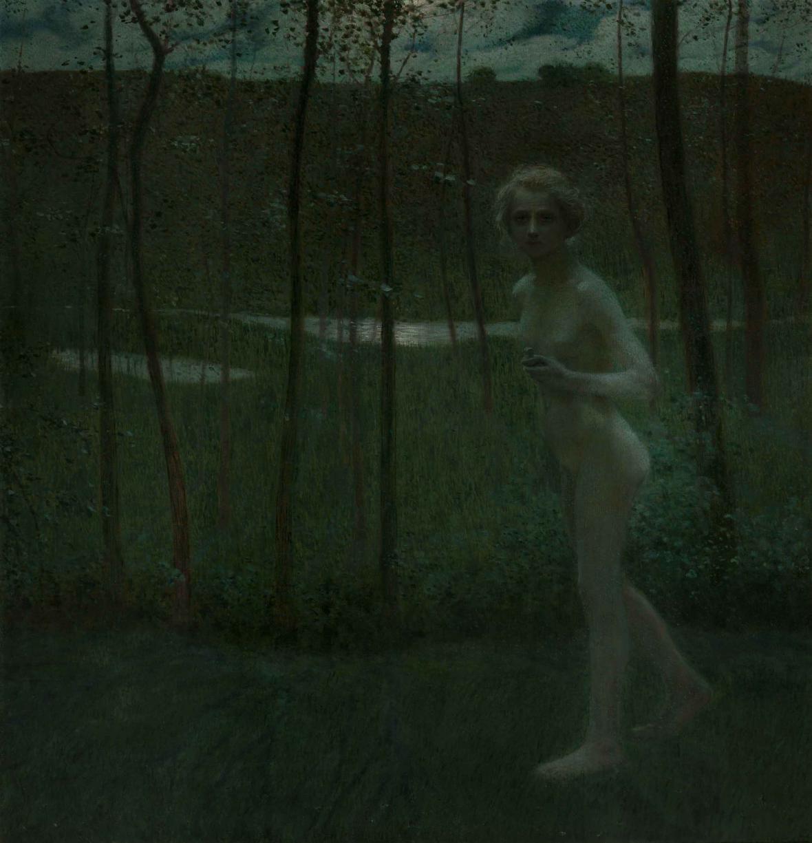 Antonín Hudeček / Psyché, 1901