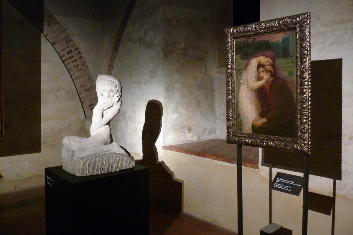 Tajemné dálky: socha Jana Štursy a obraz Maxe Švabinského