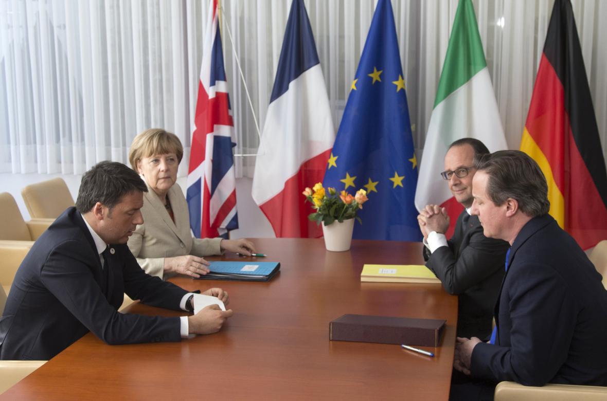 Uprchlický summit v Bruselu