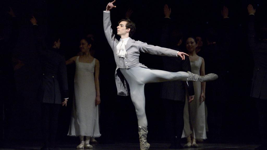 Ples – v popředí Sergio Méndez Romero (Princ)
