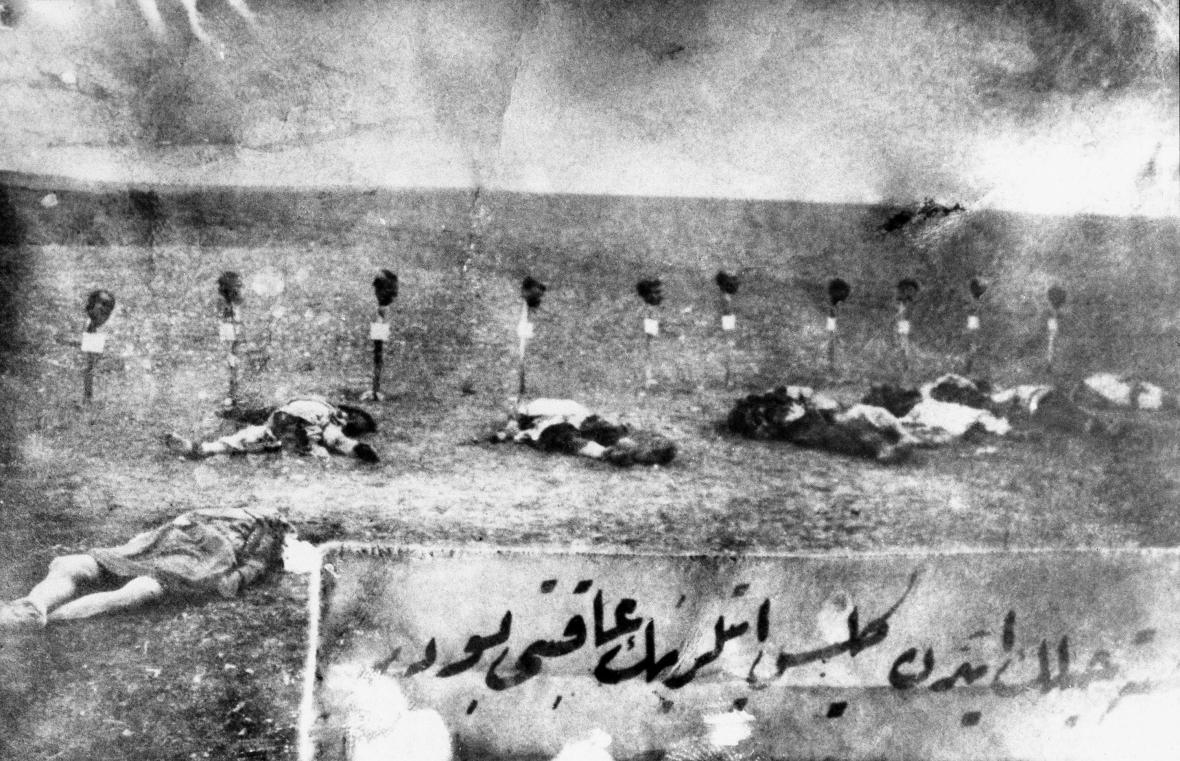 Masové vyvražďování Arménů v letech 1915–1923