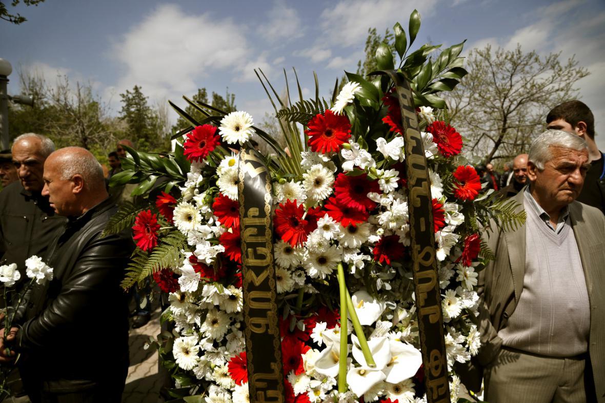 V Jerevanu si připomněli oběti masakrů z let 1915–1923