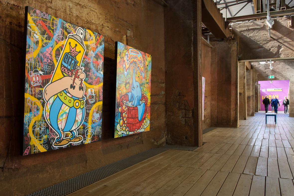 Bienále Urban Art 2015 (Völklingen, Německo)