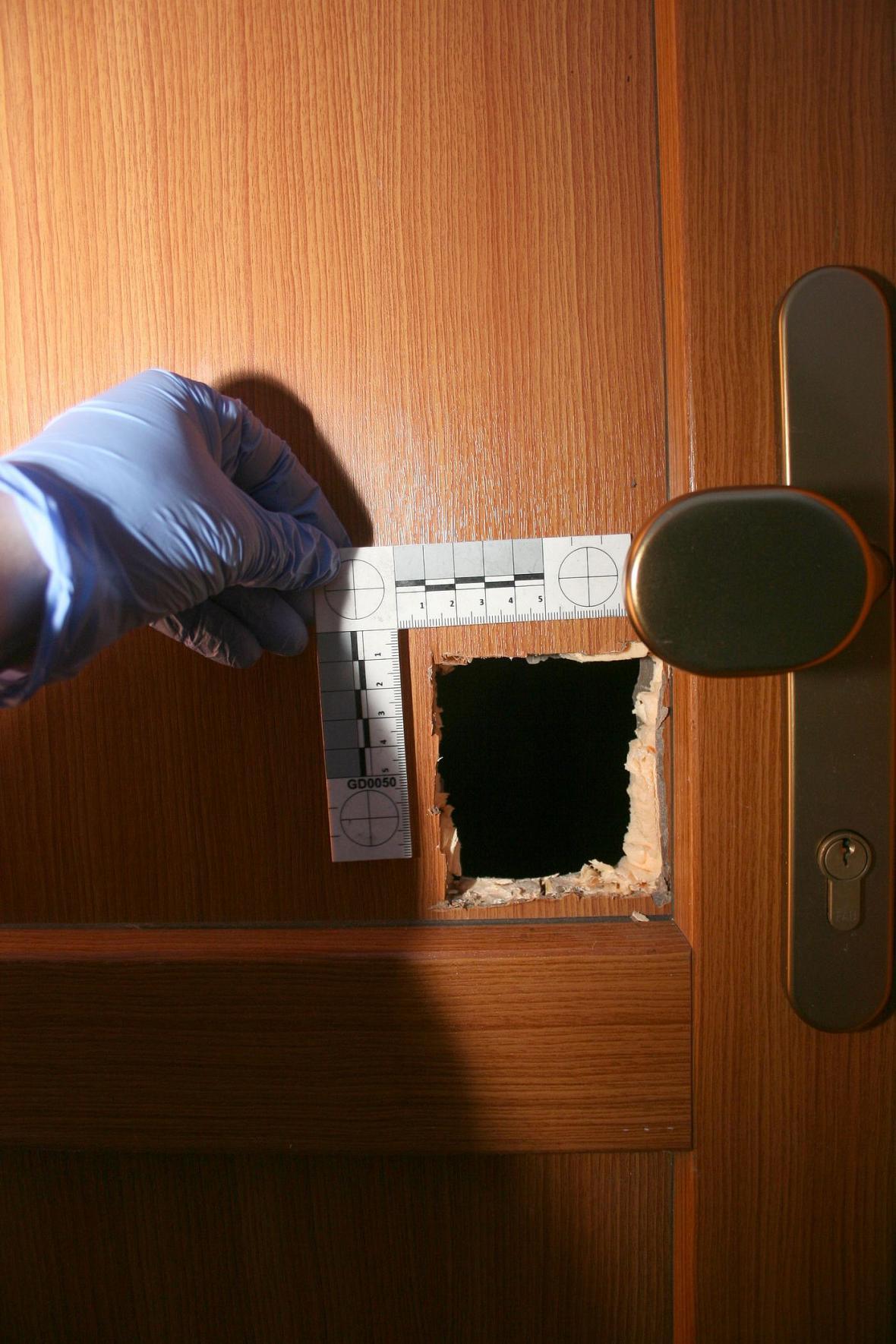 Dveře po