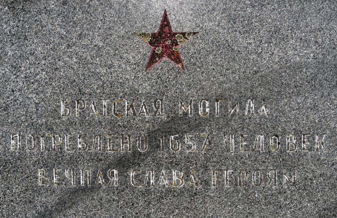 Pomník padlým vojákům Rudé armády v Hlučíně