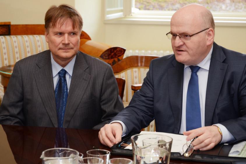 Petr Kroupa a Daniel Herman